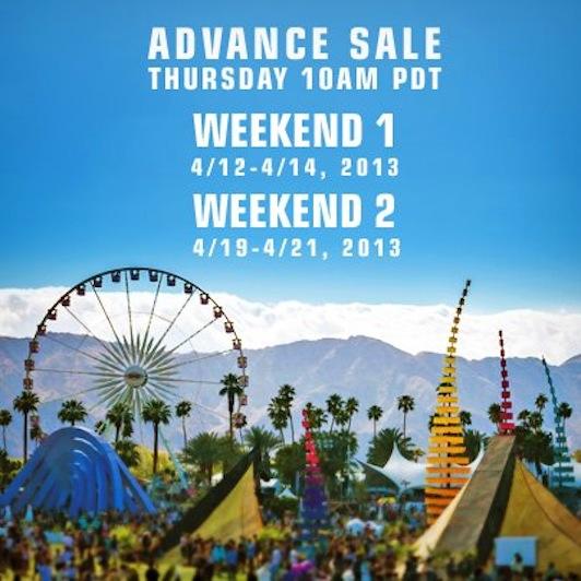 Coachella Announces 2013 Dates, Presale