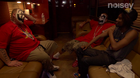 Danny Brown with Insane Clown Posse