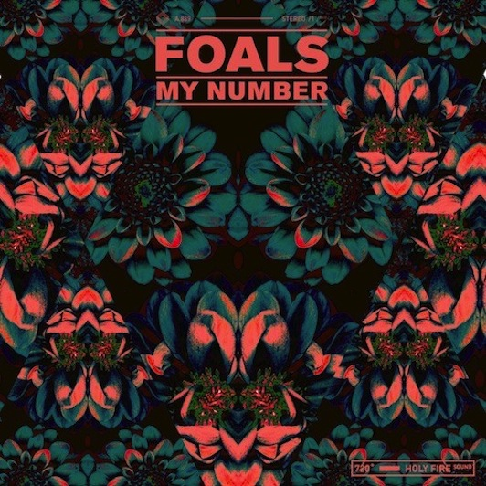 Foals My Number single