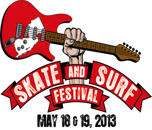 Skate and Surf logo