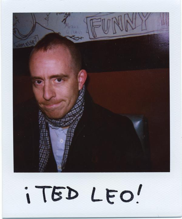 Ted Leo Polaroid
