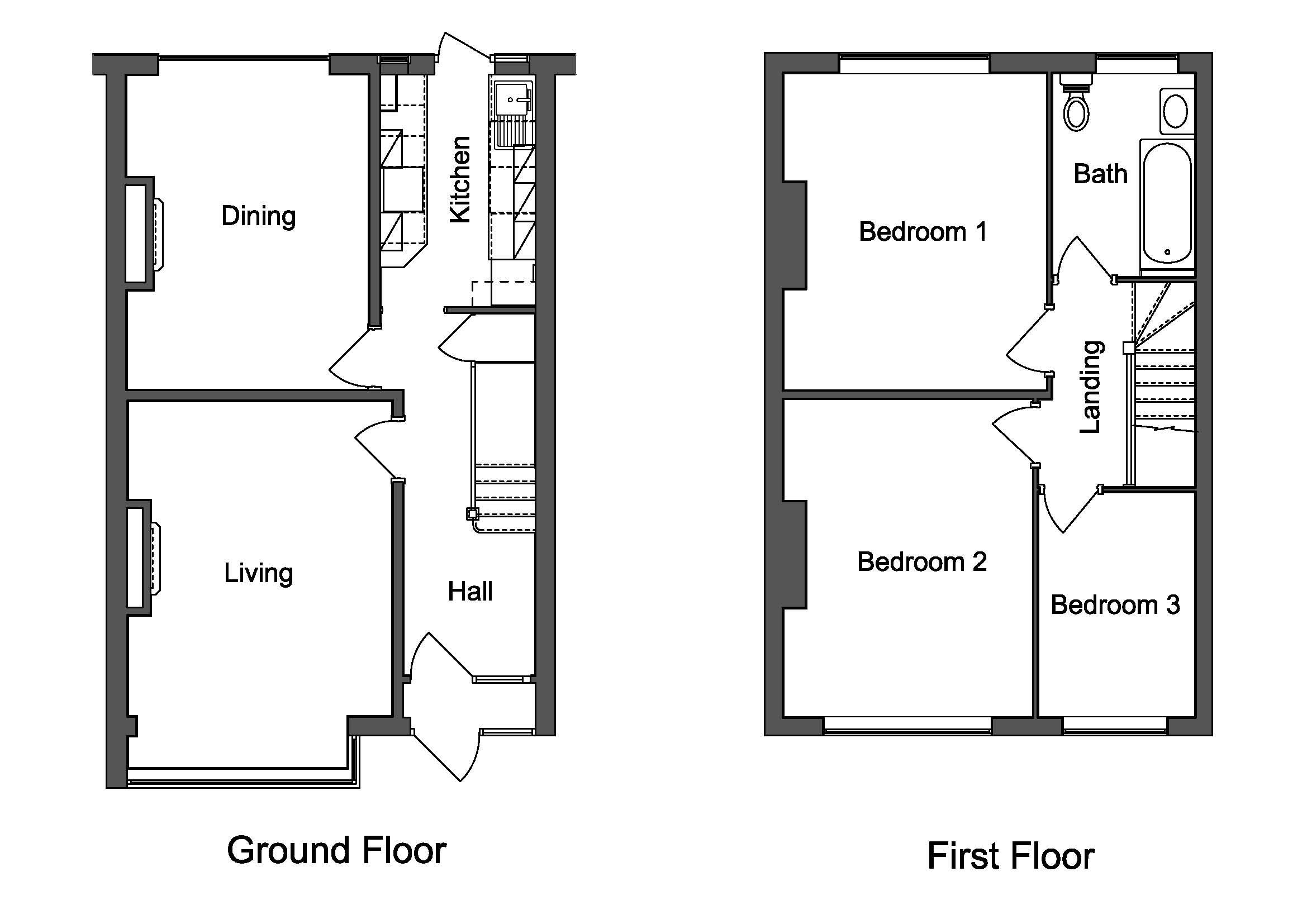 Cad creations website floorplans for Cad floor plans