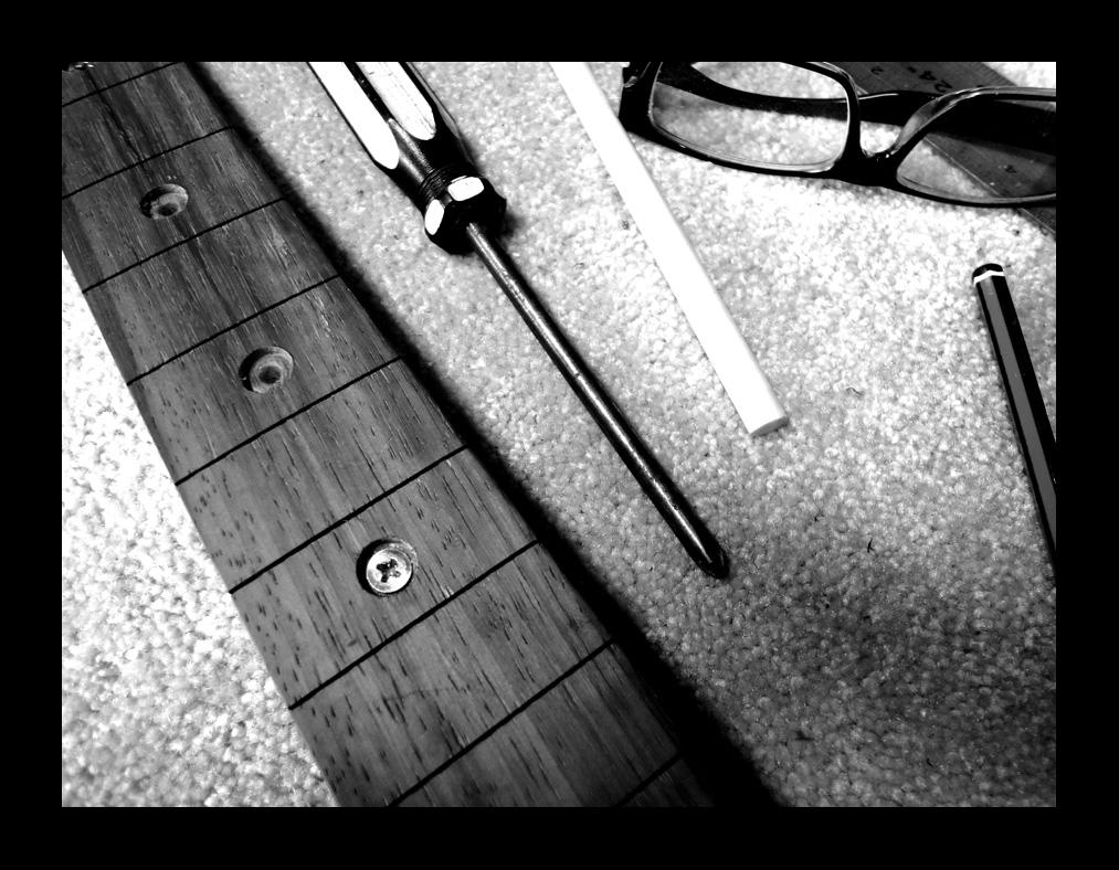 Harvester Bespoke Guitars Repairs Modifications