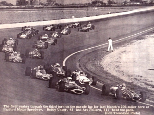History of Marchbanks Speedway, aka Hanford Motor Speedway