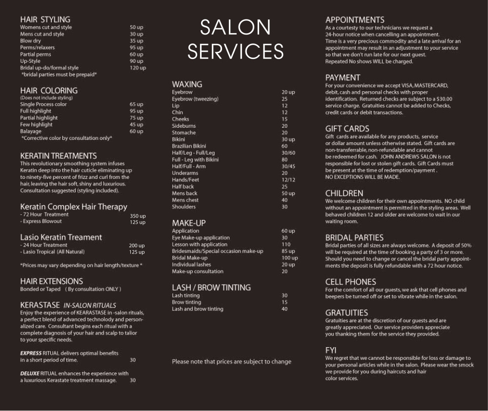 Mens hair salon near me with prices