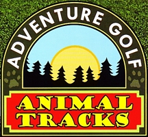 "Photo of brochure for ""Animal Tracks Adventure Golf"""