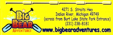 "Photo of brochure for ""Big Bear Adventures"""