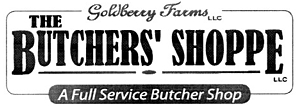 "Photo of brochure for ""Butchers Shoppe"""