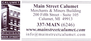 "Photo of brochure for ""Calumet, MI"""