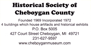 "Photo of brochure for ""Cheboygan County Historical Museum"""
