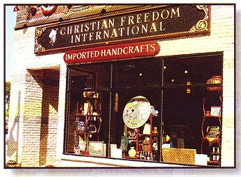 "Photo of brochure for ""Christian Freedom International"""