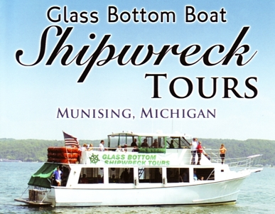 "Photo of brochure for ""Glass Bottom Boat Shipwreck Tours"""