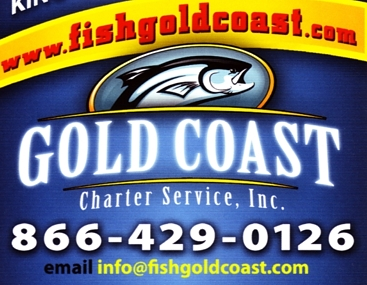 "Photo of brochure for ""Gold Coast Charter Service, Inc."""
