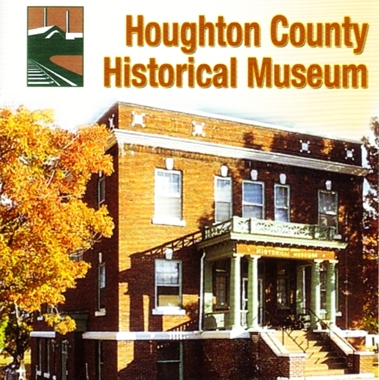 """Photo of brochure for """"Houghton County Historical Museum"""""""