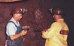 "Photo of brochure for ""Iron Mountain Iron Mine"""