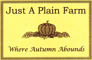 "Photo of brochure for ""Just A Plain Farm"""