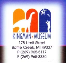 "Photo of brochure for ""Kingman Museum"""