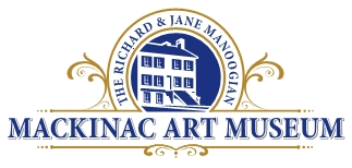 "Photo of brochure for ""Mackinac Art Museum"""