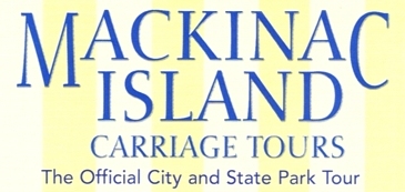 "Photo of brochure for ""Mackinac Island Carriage Tours"""