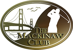 """Photo of brochure for """"Mackinaw Club Golf Course"""""""