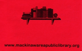 "Photo of brochure for ""Mackinaw Public Library"""