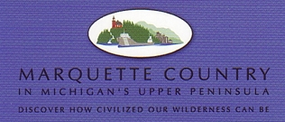"Photo of brochure for ""Marquette Country"""
