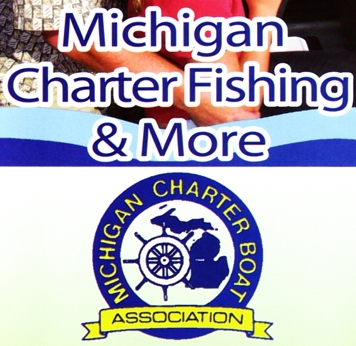 "Photo of brochure for ""Michigan Charter Boat Directory"""