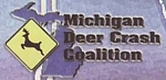 "Photo of brochure for ""Michigan Deer Crash Coalition"""