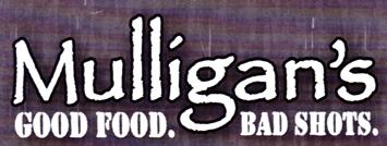 "Photo of brochure for ""Mulligan's Restaurant"""