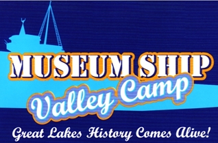"""Photo of brochure for """"Museum Ship Valley Camp"""""""