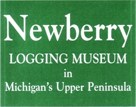"Photo of brochure for ""Newberry Logging Museum"""