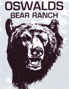 "Photo of brochure for ""Oswalds Bear Ranch"""