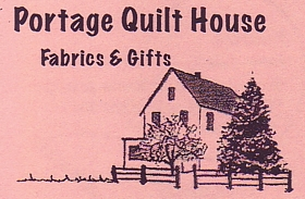 "Photo of brochure for ""Portage Quilt House"""
