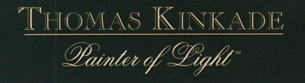 "Photo of brochure for ""Thomas Kinkade Gaslight Gallery"""