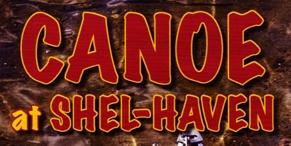 "Photo of brochure for ""Shel-Haven Canoe & Kayak Rental"""