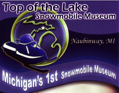 "Photo of brochure for ""Top of the Lake Snowmobile Museum"""