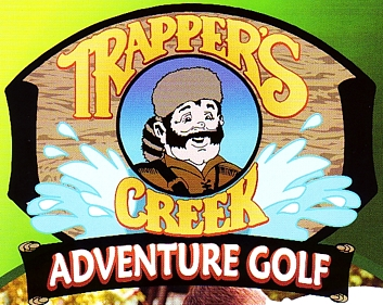 "Photo of brochure for ""Trapper's Creek Adventure Golf"""
