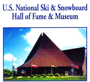 "Photo of brochure for ""U.S. National Ski & Snowboard Hall of Fame & Museum"""