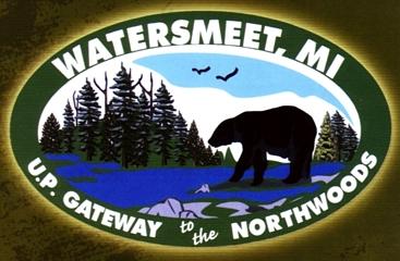 "Photo of brochure for ""Watersmeet, MI"""