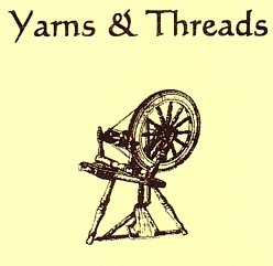 "Photo of brochure for ""Yarns & Threads"""