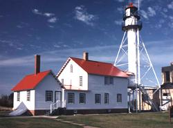 Photo of Whitefish Point in the Upper Peninsula of Michigan.