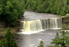 Photo of Tahquamenon Falls in Newberry, MI.