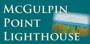 "Photo of brochure for ""McGulpin Point Lighthouse"""