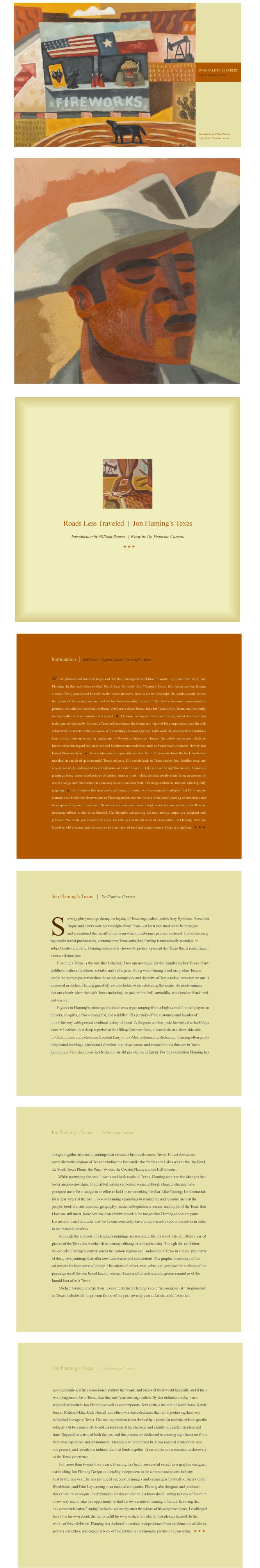 Jon Flaming - Journal - The