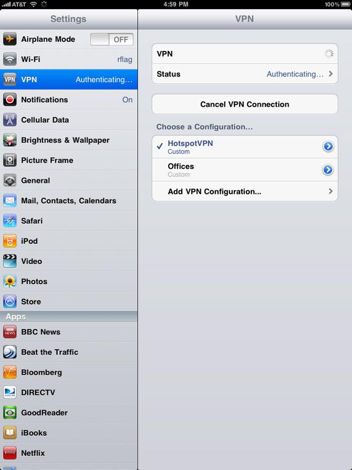 Hotspotvpn Dot Com Ipad And Iphone Setup