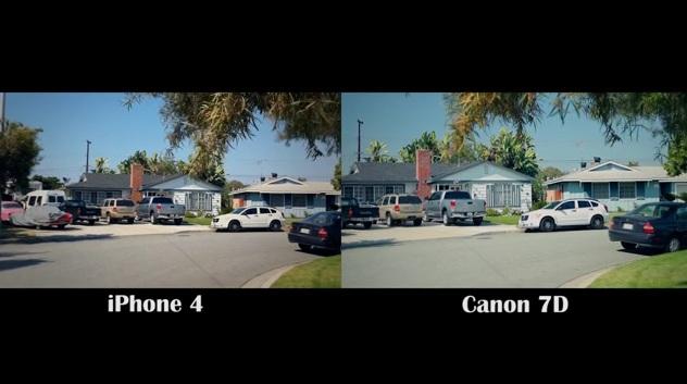 iPhone 4 Camera vs Canon 7D - Fight! - Okay Geek