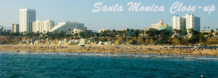 Santa Monica Close-up