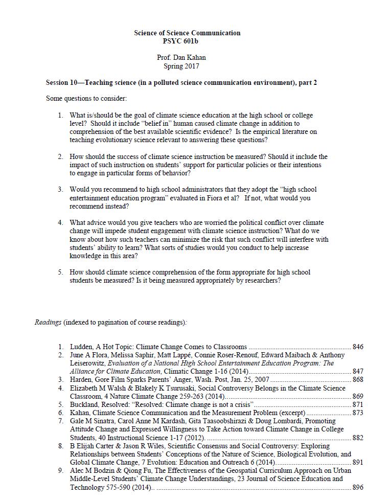 Science Homework Must See Video 939 >> Cultural Cognition Project Cultural Cognition Blog Science Of