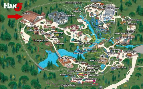 Welcome - Bush gardens park map
