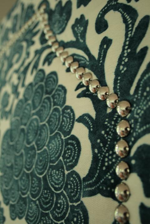 Stunning DIY Upholstered Headboard Nailhead Trim 481 x 720 · 303 kB · jpeg
